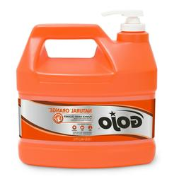 GOJO 0955 Natural Orange Pumice Hand Cleaner 1 Gallon