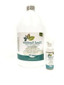 1.7 OZ + GALLON Refill BAC-D Foaming Hand Sanitizer & Wound