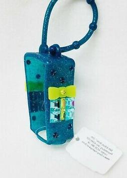 1 Bath & Body Works BLUE GEM PRESENT Pocketbac Holder Hand G