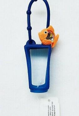 1 Bath & Body Works ORANGE FISH Navy Pocketbac Holder Hand G