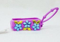 1 Bath & Body Works PURPLE GEM FLOWERS Pocketbac Holder Hand