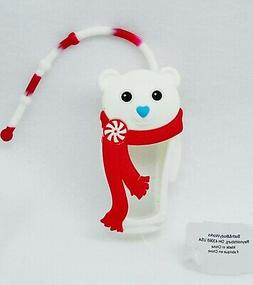 1 Bath & Body Works WHITE POLAR BEAR Pocketbac Holder Hand G
