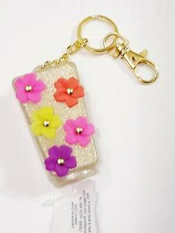 1 Bath Body Works FLOWERS Glitter Pocketbac Holder Hand Gel