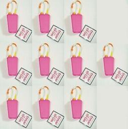 10 Bath Body Works PINK GLOW IN DARK Pocketbac Holder Hand G