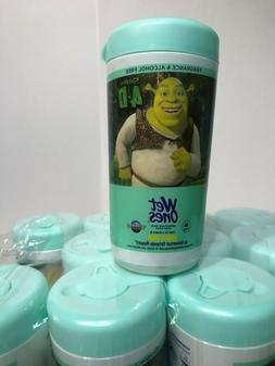 12 Pk Wet Ones Fragrance Free Sensitive Skin Moist Wipes Han