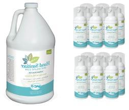 12 X 1.7 OZ + GALLON Refill BAC-D Foaming Hand Sanitizer & W
