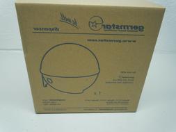 GermStar 12111 WHBL Hand Sanitizer Dispenser Globe White / B