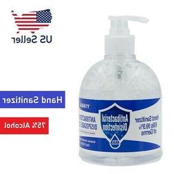 16.9oz Hand Sanitizer Antibacterial Gel 75% Ethanol Nourishi