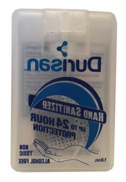 Durisan 18ml Alcohol FREE hand Sanitizer Credit card Spray M