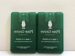 2 Antibacterial Hand Sanitizer Pocket Size .68 oz / 20 ml ea