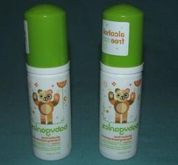 2 NEW = BABYGANICS ALCOHOL FREE FOAMING HAND SANITIZER MANDA
