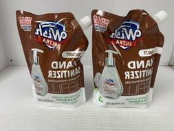2 Wish Ultra Hand Sanitizer refill 33.8oz Each, Coconut 70%