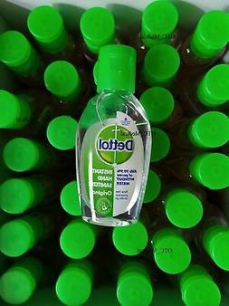 20 x 50ml Dettol Original mini travel size hand sanitizer lo