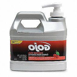 GOJO 2356-04 Gel Hand Cleaner, Cherry, Pump Bottle, Red