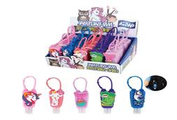 25 COUNT Kids Hand Sanitizer Travel Sized 1oz Keychain Carri