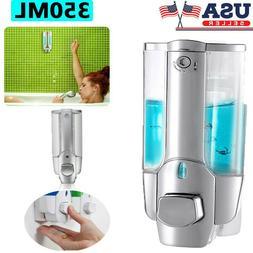 350ml Wall-mounted Dispenser Public Hands Sanitizer Soap Sha