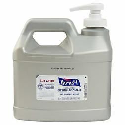 PURELL Advanced Hand Sanitizer 1/2 Gallon Gel 64 oz 2L Pump