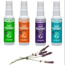2 X Fresh Lightly Scented Hand Sanitizer Spray Gentle Essent