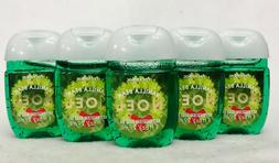 5 Bath Body Works VANILLA BEAN NOEL Antibacterial Pocketbac
