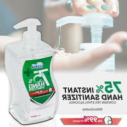 500ml 16.9oz Large Size {CLEACE} 75% Alcohol Hand Sanitizer