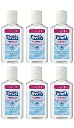 6-Pack Purell Advanced Hand Sanitizer Refreshing Gel, 1 Fl O