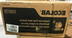 Ecolab 6100729 Foam Hand Sanitizer, 750mL, Alcohol, Light Re