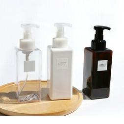 650ml Liquid Soap Dispenser Plastic Foaming Bottle Pump Cont