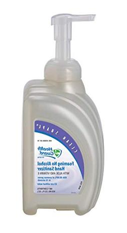 Health Guard 68214 Foaming No Alcohol Hand Sanitizer, 950 mL