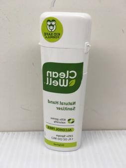 9 pack of CleanWell Natural Hand Sanitizer Spray Original -