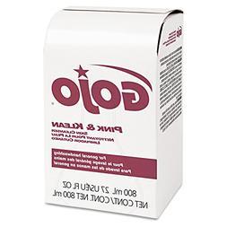 GOJO Pink & Klean Skin Cleanser 800mL Dispenser Refill Flora