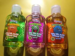 LOT OF 3 GERM-X HAND SANITIZER MANGO FRUIT-WILD BERRY-GREEN