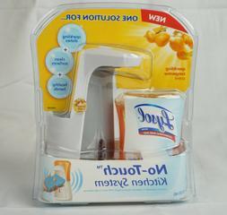 Lysol No-Touch Kitchen System Dish Soap Dispenser Starter Ki