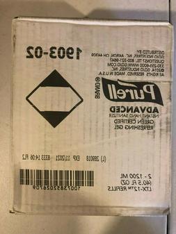Purell® 1903-02 LTX Green Certified 1200 mL Gel Instant Han