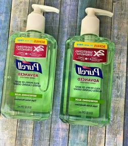 Purell Advanced Hand Sanitizer Refreshing Aloe, 10oz, 3 Pack