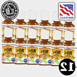 Advanced Hand Sanitizer, 80% Alcohol Citrus Scent, 1 oz Disp