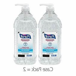 advanced hand sanitizer refreshing gel 2 liter