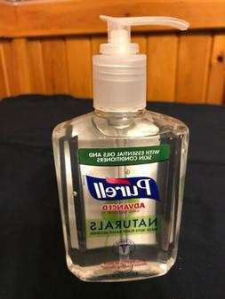 Purell Advanced Naturals Hand Sanitizer  8oz  Exp 03/2021