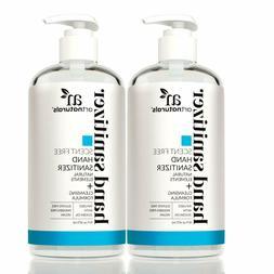 Artnaturals Alcohol Based Hand Sanitizer Gel With Pump - Uns