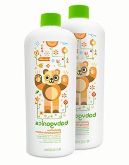 Babyganics Alcohol-Free Foaming Hand Sanitizer Refill, Manda