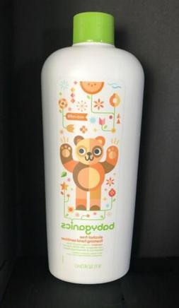 Babyganics Alcohol Free Foaming Hand Sanitizer Tangerine Ref