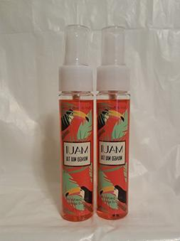 Bath and Body Works Anti-Bacterial Hand Spray 2 Pack. Maui M