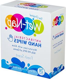 Wet-Nap The Original Anti-Bacterial Wipes Packet, Fresh, 24