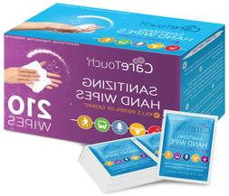 antibacterial hand sanitizer wipes 210 individually wrapped