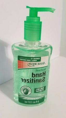 assured instant hand sanitizer 8 fl oz