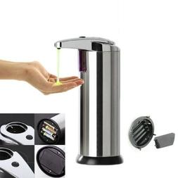 Auto Soap Liquid Dispenser Sensor Hands Touchless Bathroom S