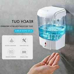 Automatic Liquid Soap/Alcohol Sanitizer Dispenser 700ML Hand