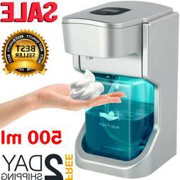 Automatic Soap Dispenser Sanitizer Hands-Free IR Sensor Touc
