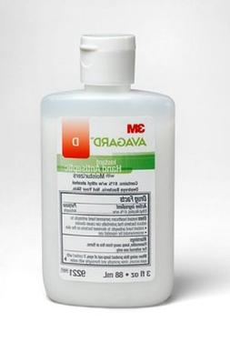 3M Avagard Instant Hand Antiseptic with Moisturizers, 3oz, Q