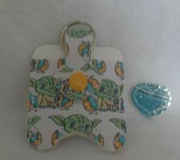 Baby Yoda Hand Sanitizer HOLDER Free is Shipping