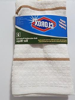 Clorox Bar Mop Dish Cloth One Package Anti-microbial Protect
